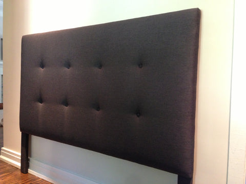 another tufted headboard