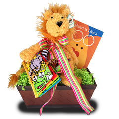 Loving Lion Gift Basket