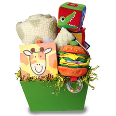 Baby Time for Boy or Girl Gift Basket