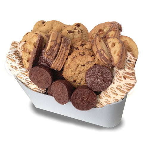 A Gift Basket Full of Bakery Treats