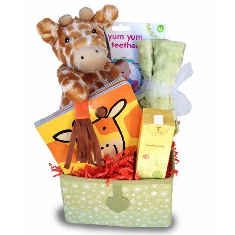 A Gift Basket that is a Cute as a Button