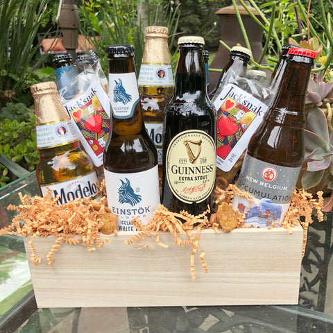 Beer Gift Basket Just for You