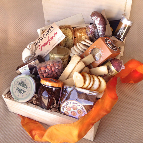 Epicurean Delight in a Gift Basket