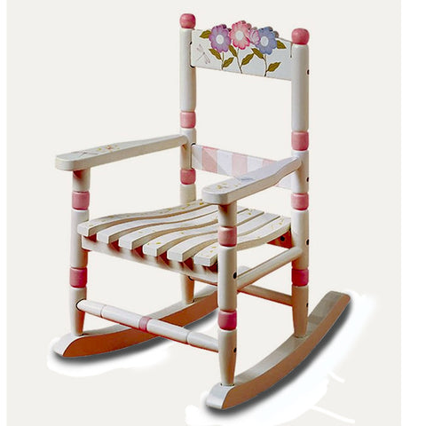 Little Flower Rocking Chair
