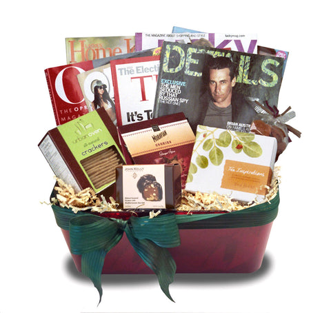 Home In Bed Gift Basket