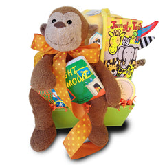 Little Monkey Gift Basket