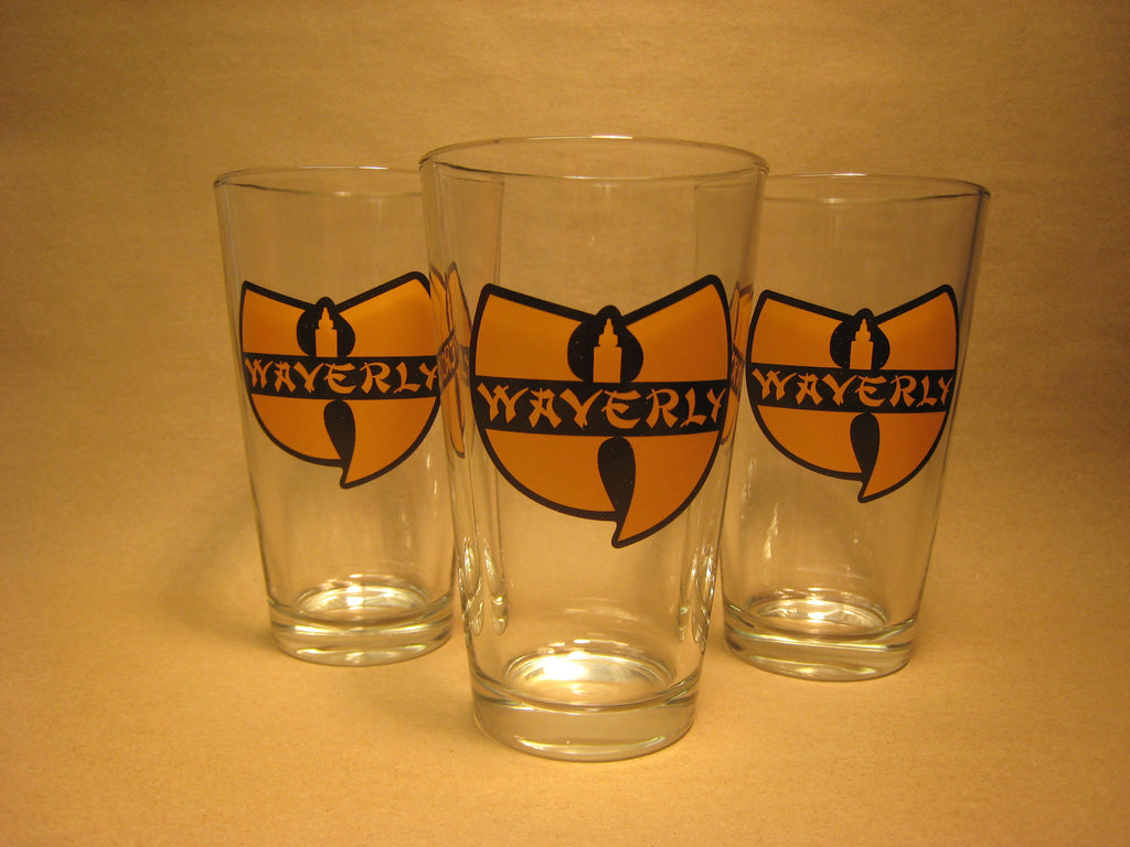 Waverly WU Pint Glass