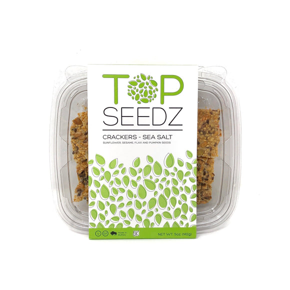 Top Seedz Sea Salt Crackers