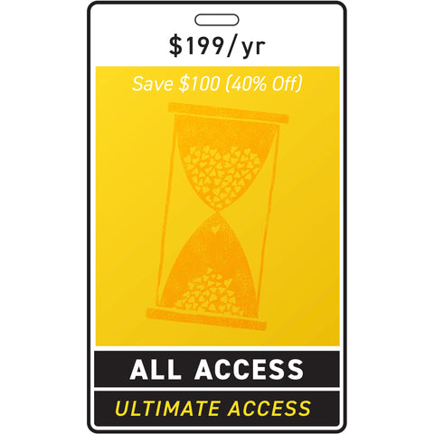 Ultimate Access + Merch $199/year