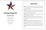 DIY American Star Kit - Free Shipping
