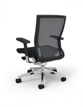 Blanco Office Chair with Black Seat Option