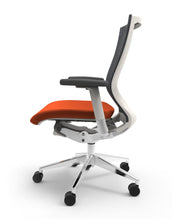Blanco Office Chair with Persimmon Seat Option