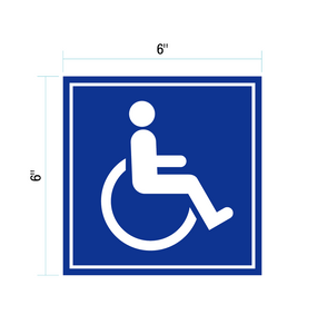 ADA Handicap Decal