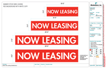 Now Leasing Stock Banners