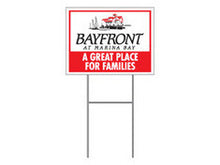 Burma Shave Signs - Custom Slogan and Logo