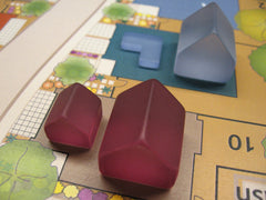 Acrylic L Shaped Houses