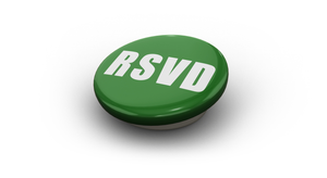 "5/8"" RESERVED Metal Button Pkg. 50"