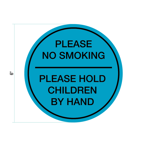 No Smoking Sticker