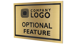 Custom Optional Feature Plaques-PKG of 12, 50