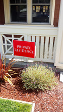 "Private Residence Sign - 18"" x 24"""