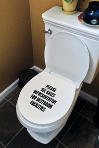 Regular Toilet Seat Cover