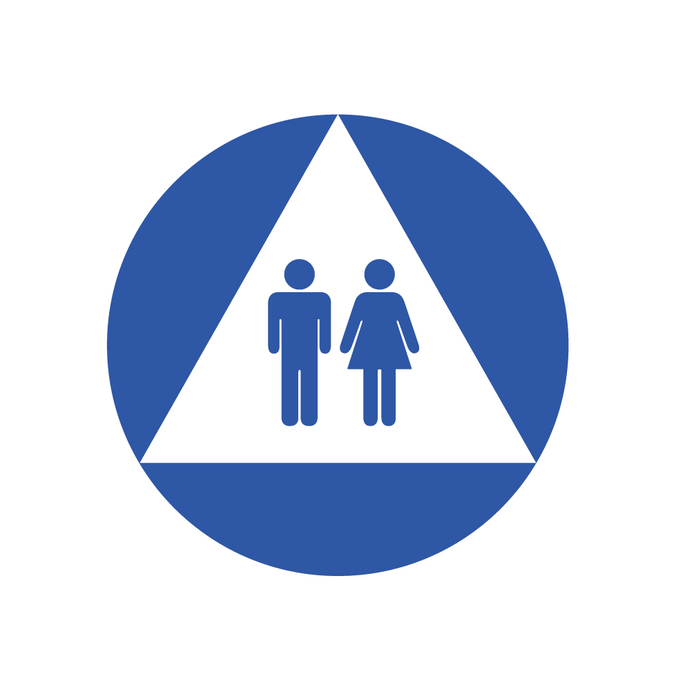 Restroom Signs - Title 24 (California Only)