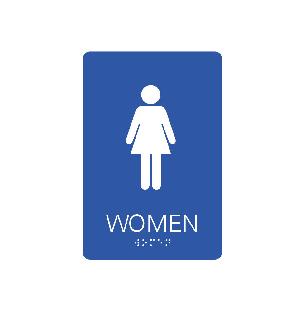 Restroom Signs - Women