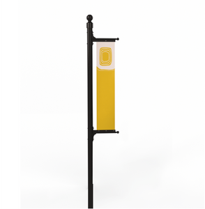 Rigid Panel Banner Flag & Pole