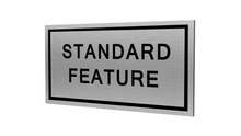 Stock Standard Feature Plaques-PKG of 12, 50