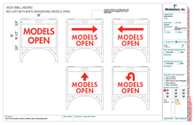"""Models Open"" A-Board"