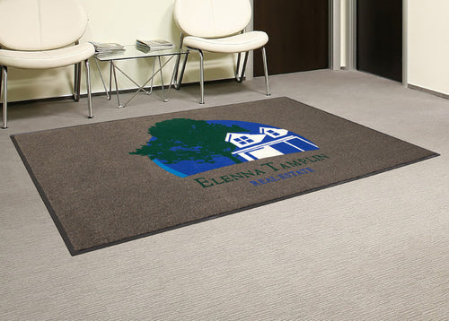 Custom Flocked Olefin Interior/Exterior Door Mats