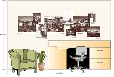 Graphic Design - Lifestyle Arrangement Layout