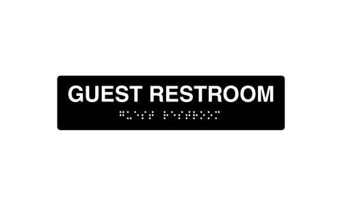 Restroom Signs - Guest