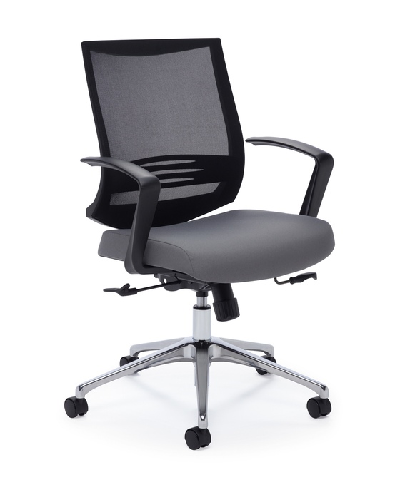 Plex Swivel-Tilt Office Chair