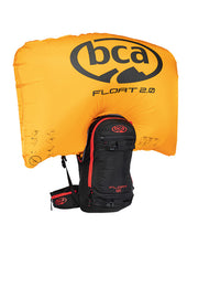 BCA FLOAT 12 AVALANCHE AIRBAG PACK 2.0  BLK/RED