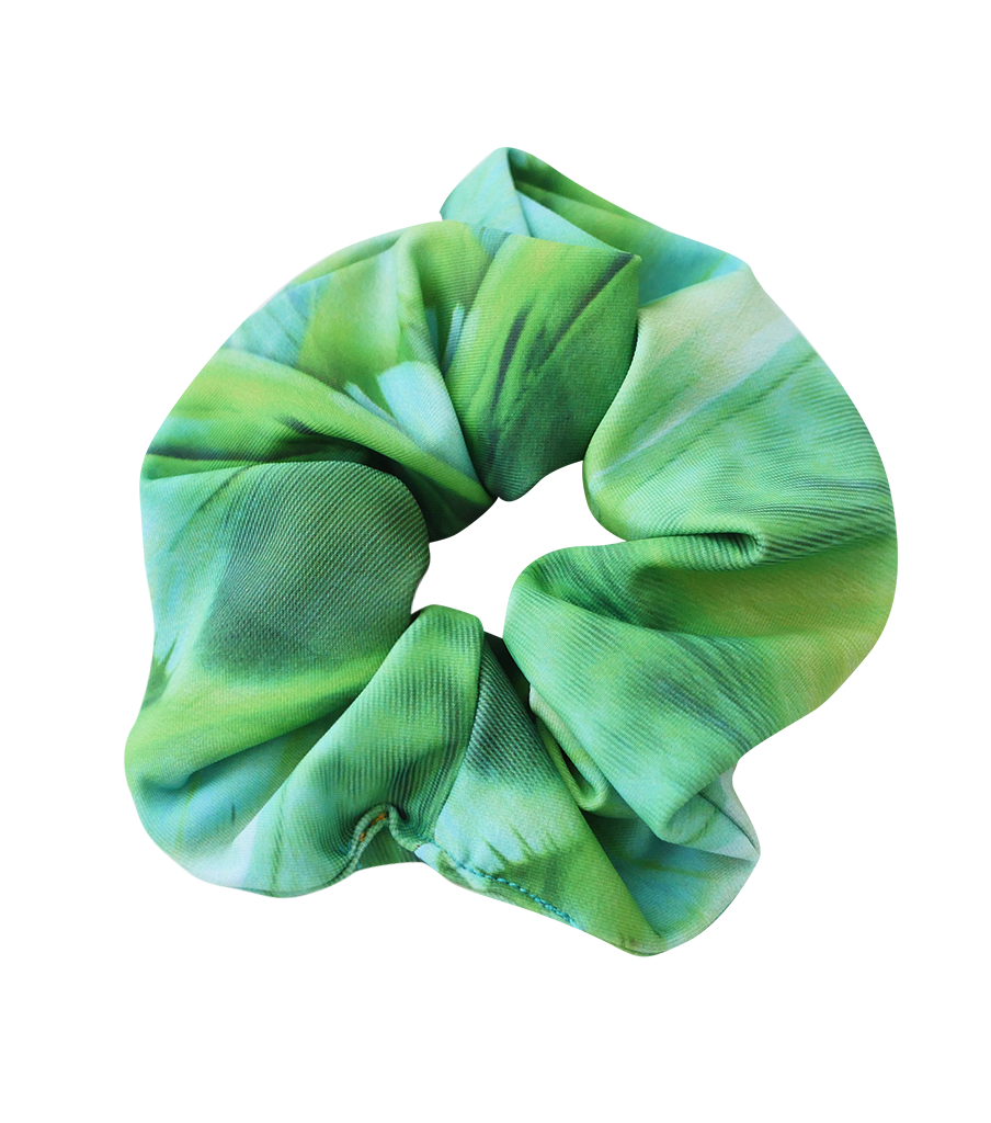 NEW! PARAKEET SCRUNCHIE