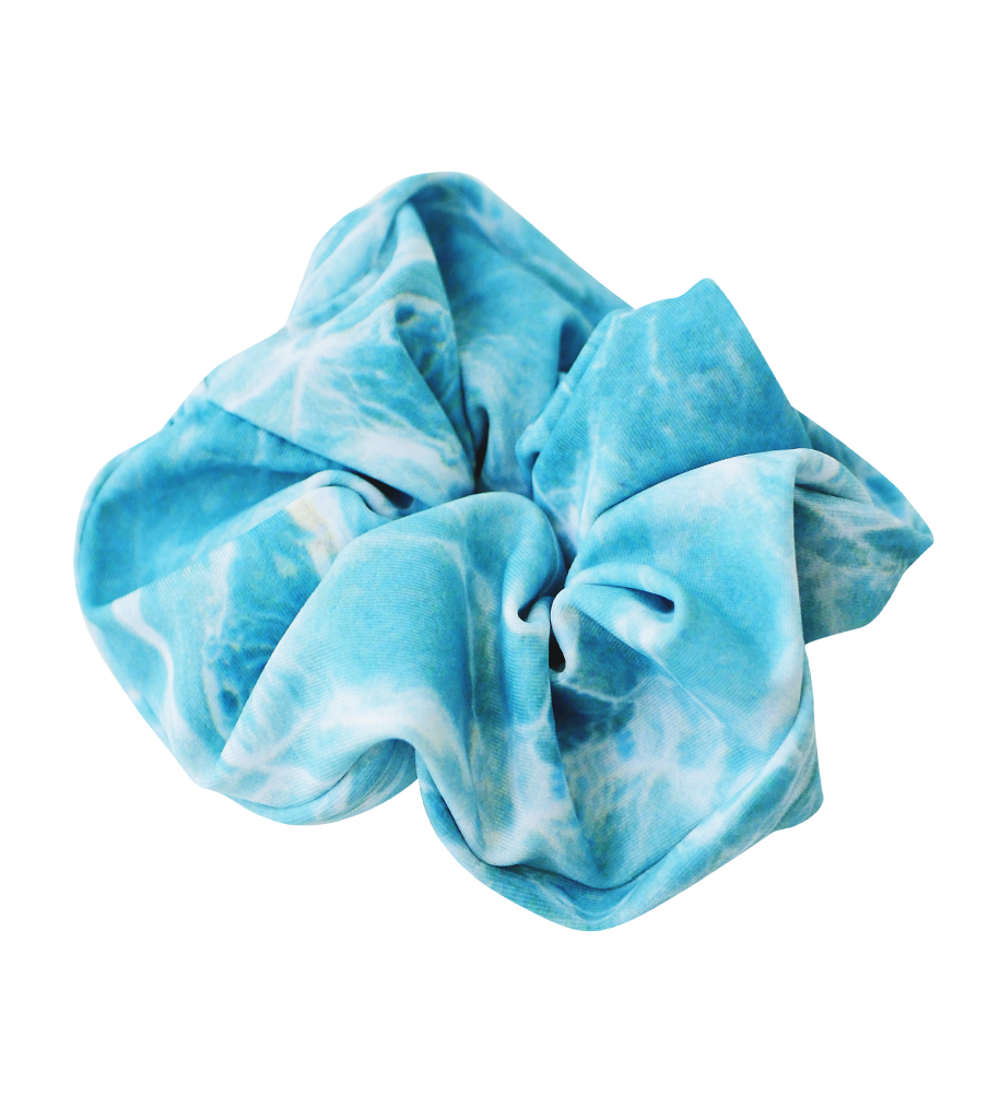 NEW! SEAMLESS TREASURE CAYE SCRUNCHIE