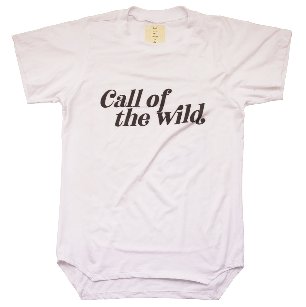 NEW UNISEX BAMBOO 'CALL OF THE WILD' TEE