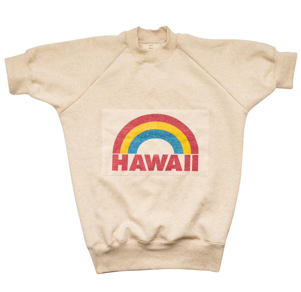 HAWAII VINTAGE WASH RAGLAN SWEATER
