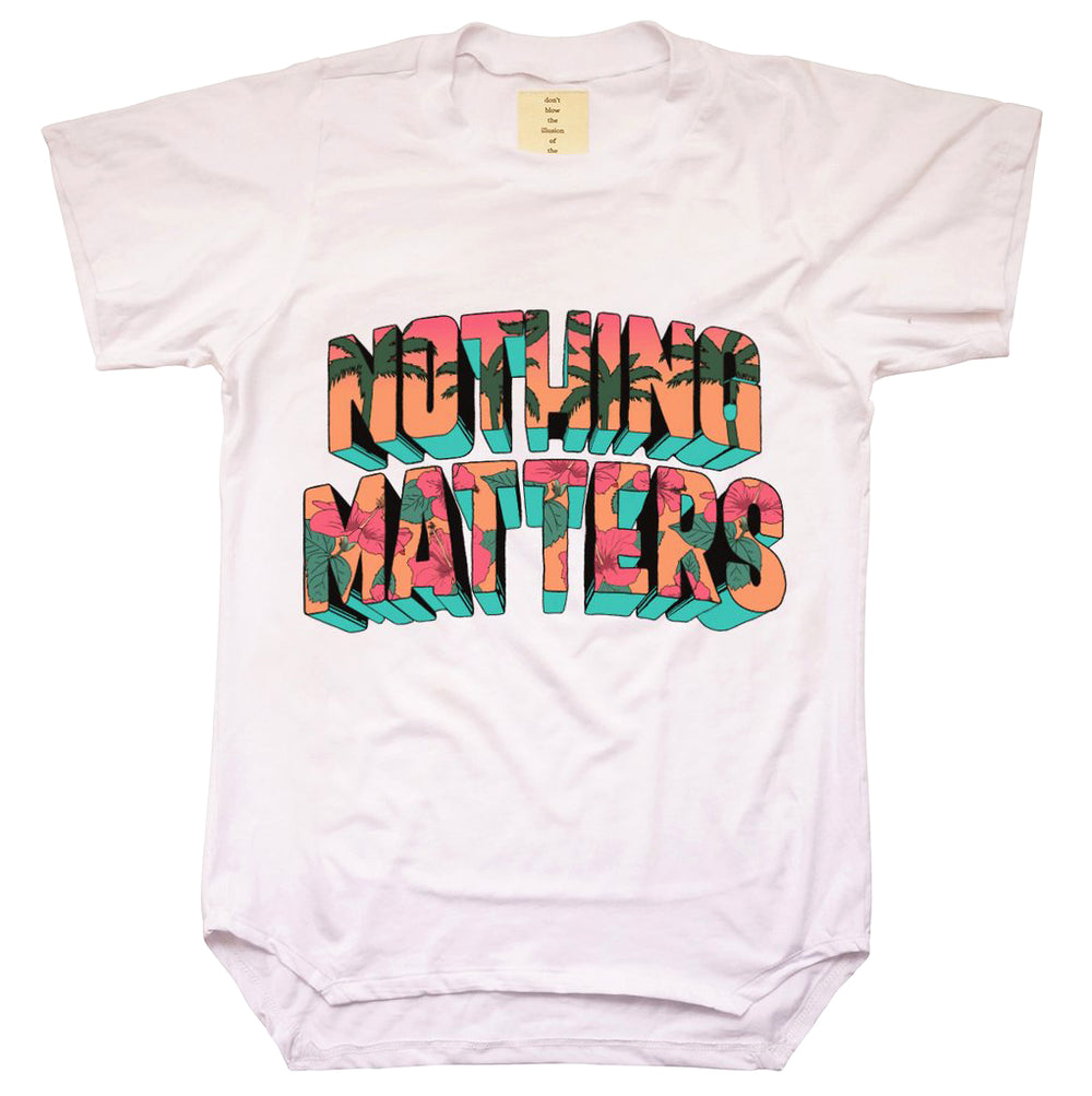 UNISEX BAMBOO 'NOTHING MATTERS' TEE