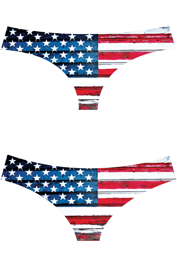 LIMITED! AMERICUH LASER CUT BOTTOMS