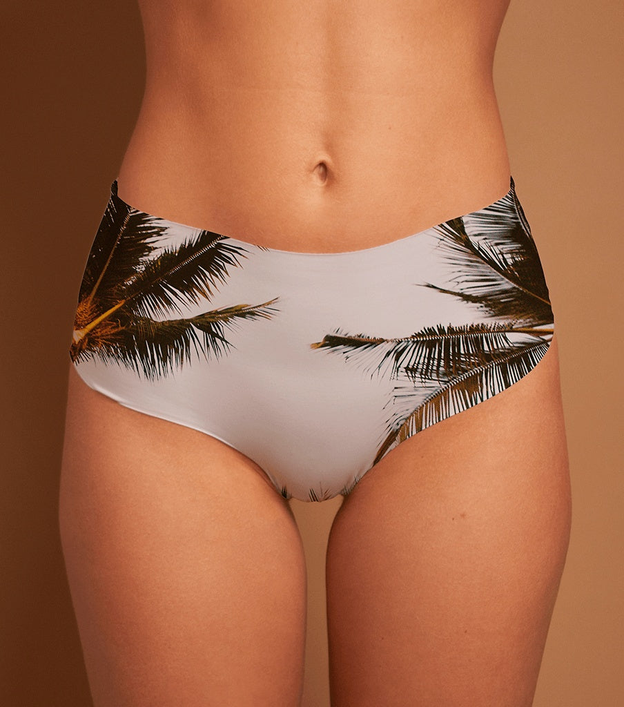 Bottoms, Hotcakes - COMING SOON! 'BIG ISLAND' LASER CUT MID-RISE BRIEF