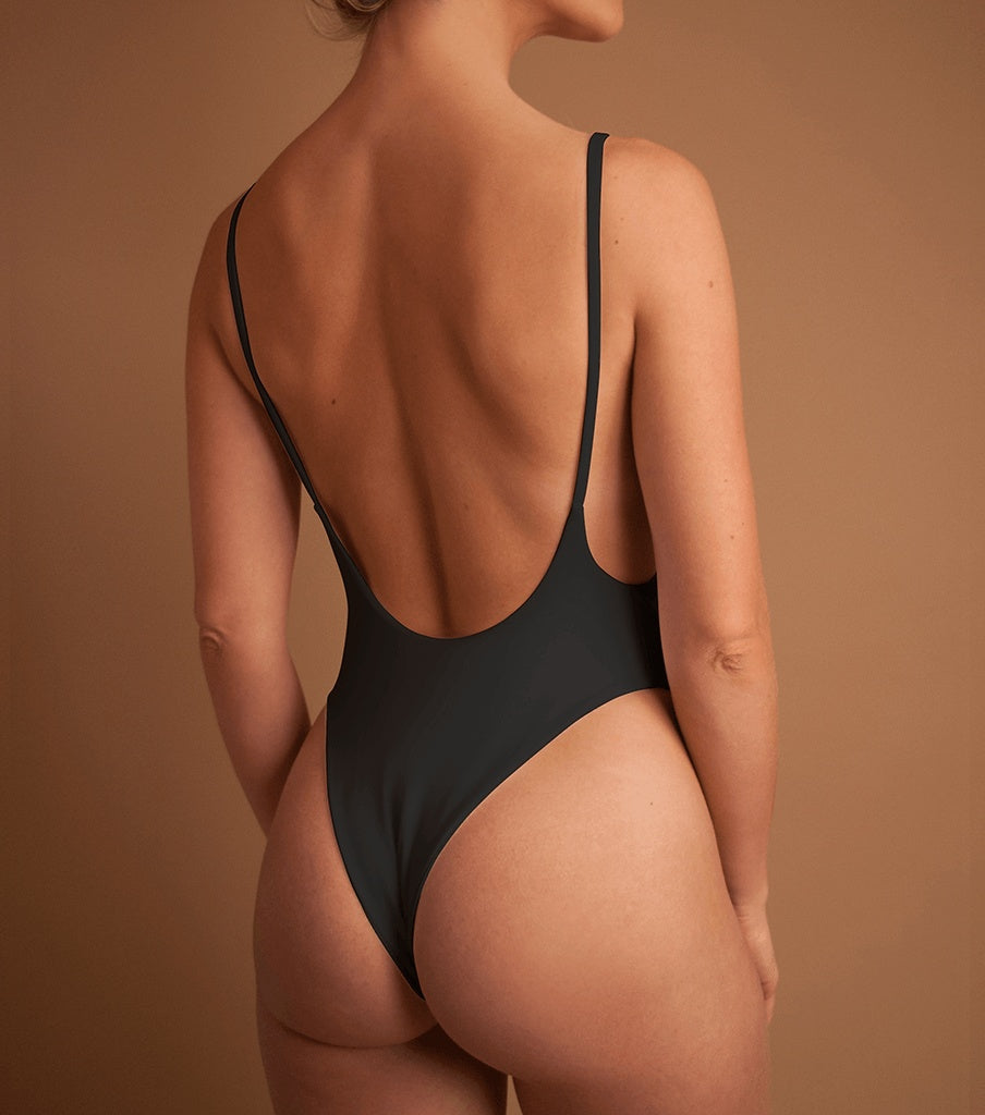One Pieces - 'CHARCOAL' BETTY ONE PIECE
