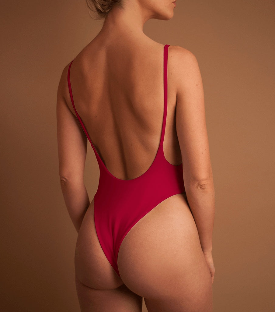 LIMITED 'MAROON'D' BETTY ONE PIECE