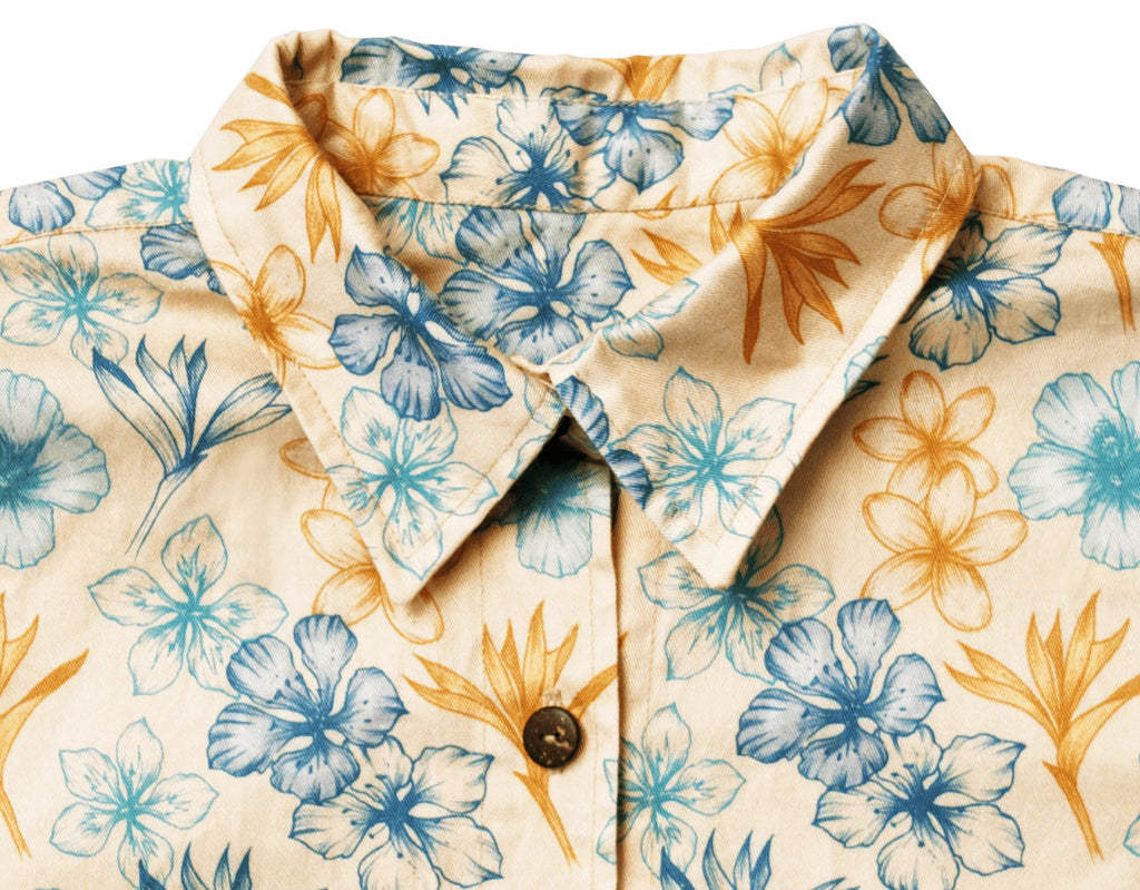 Shirts - 'ALOHA CLASSIC' FRENCH TWILL UNISEX SHIRT