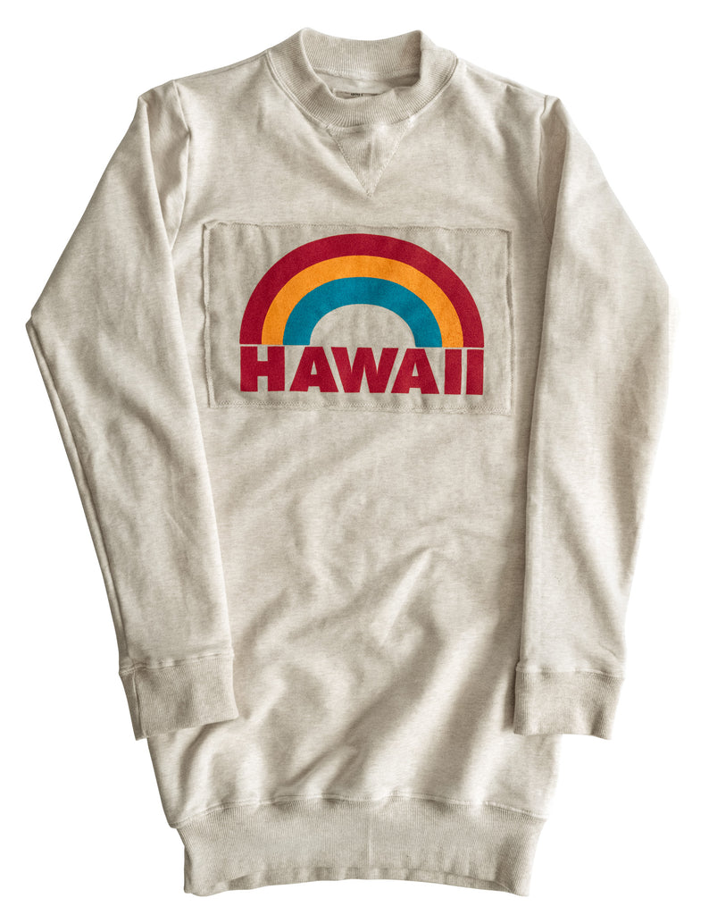 NEW! 'HAWAII' VINTAGE WASH SWEATER DRESS