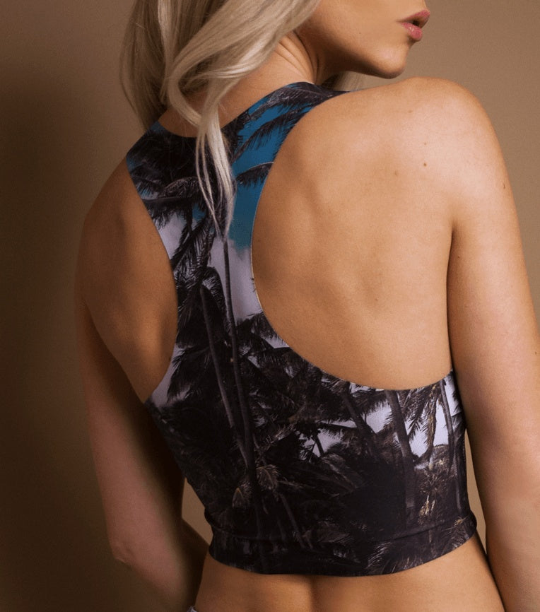 THE 'PUNALU'U' RAZER CROP TOP