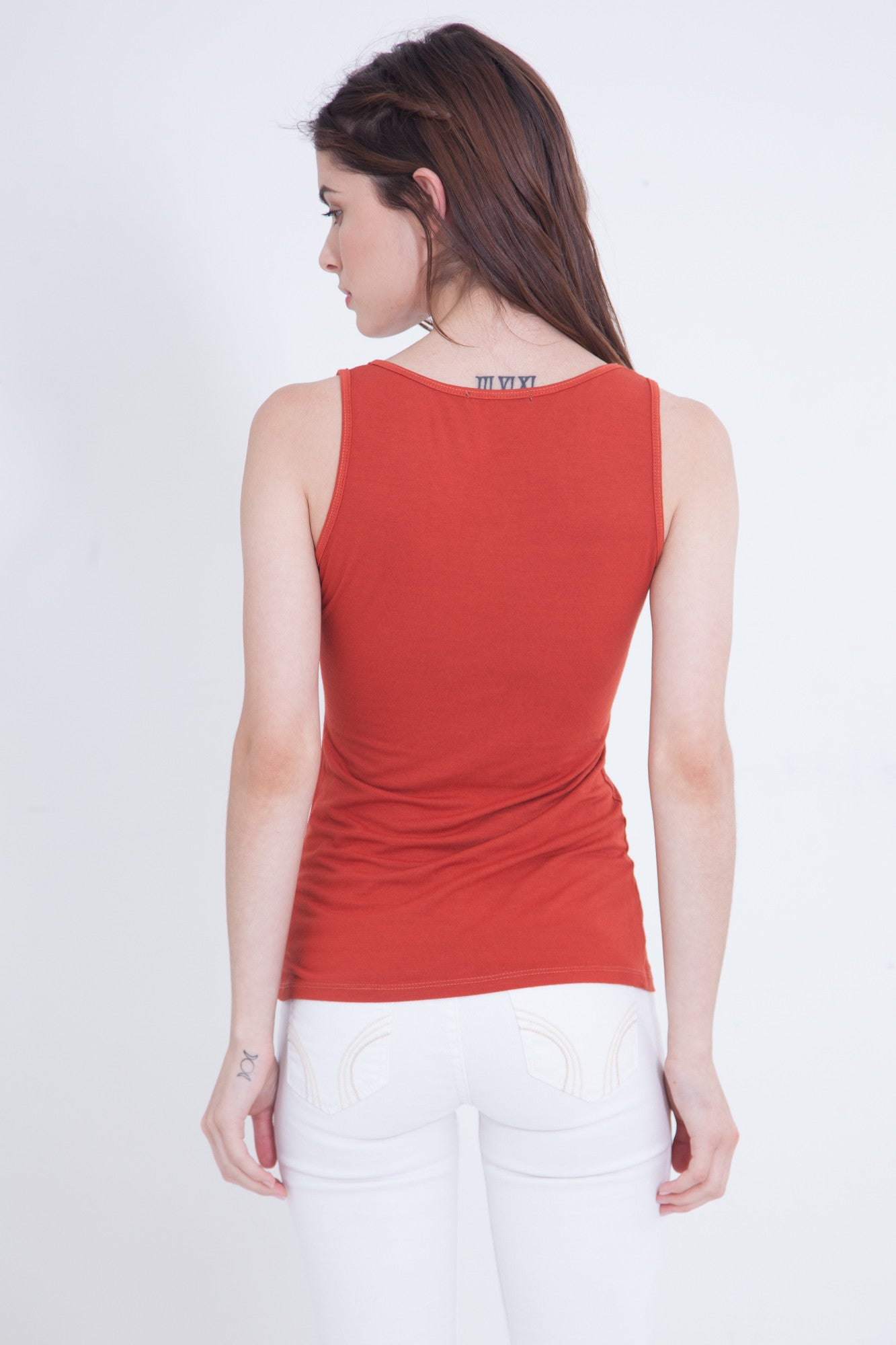 Layering Tank in Spice