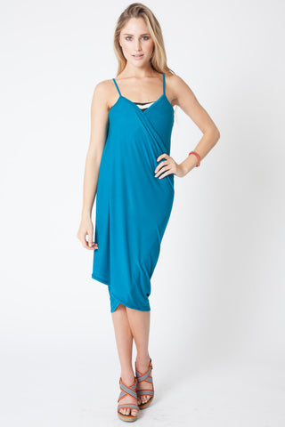 Convertible Beach Wrap Dress in Royal