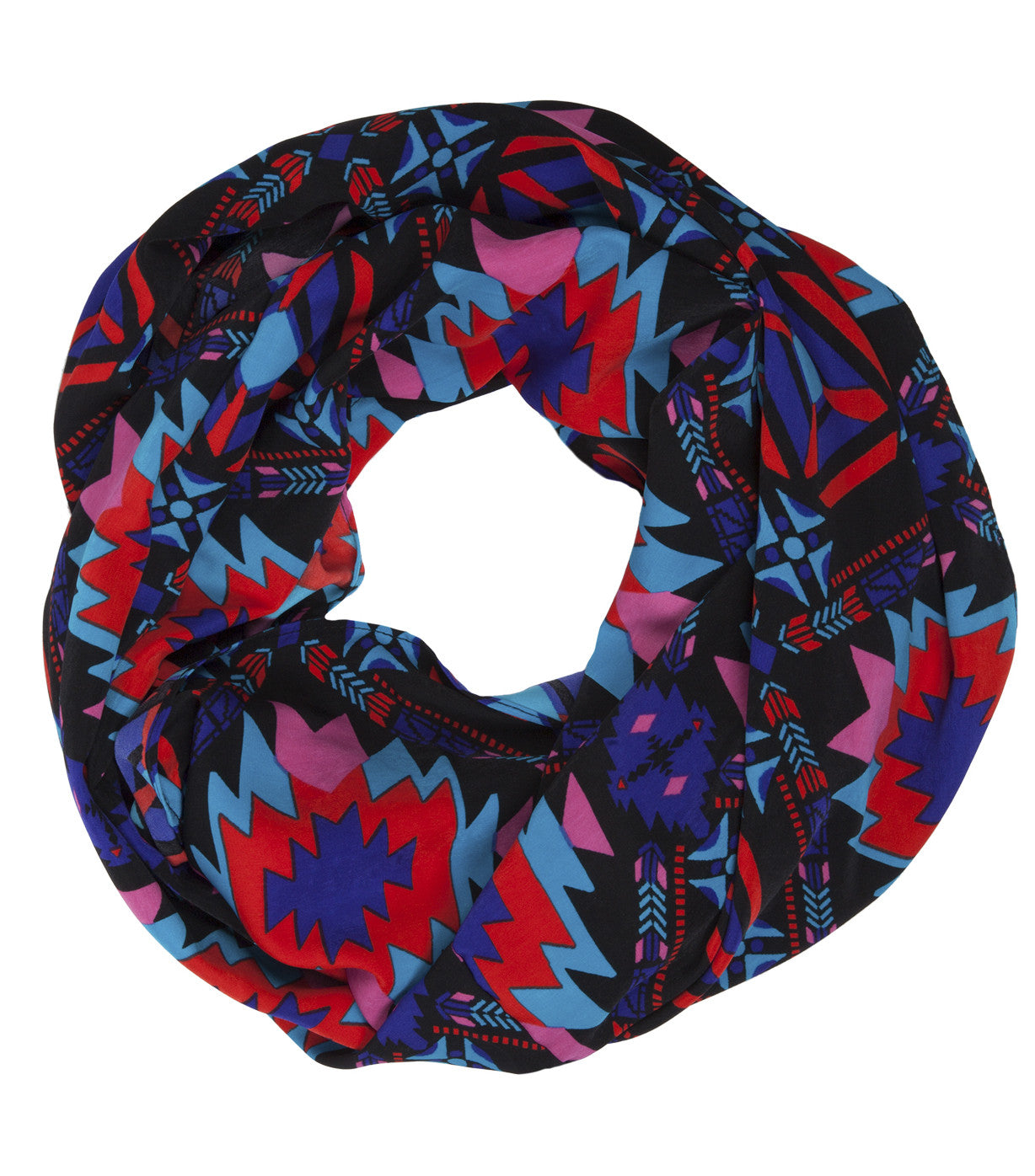 Infinity Scarf Aztec in Multicolor